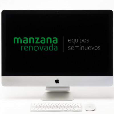 "Apple iMac 27"" 5K i7 4,2Ghz 32GB y FD 1TB Grafica de 4GB"