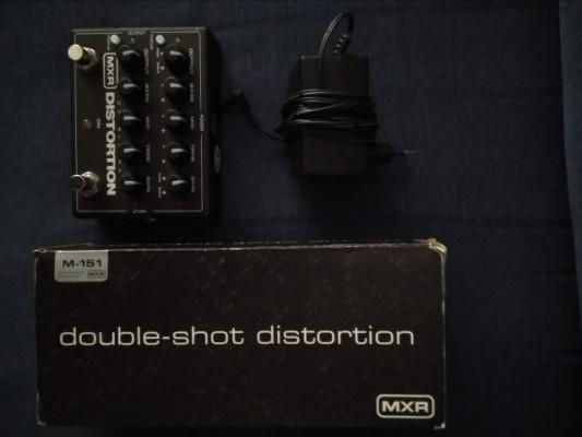 Mxr doubleshot distortion M151