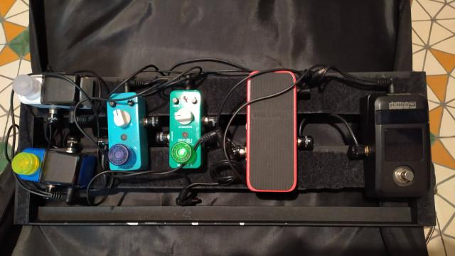 Hotone Soul Press(wah, volumen y expresión en un mismo pedal)