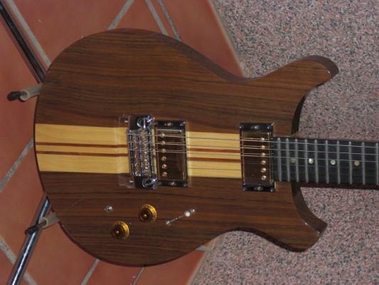vendo guitarra el ctrica de luthier en alicante