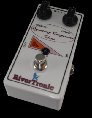 Pedal para guitarra eléctrica Dynacomp Compressor Clone