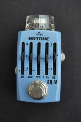 Mini Pedal HOTONE EQ-V (Ecualizador de 5 bandas)
