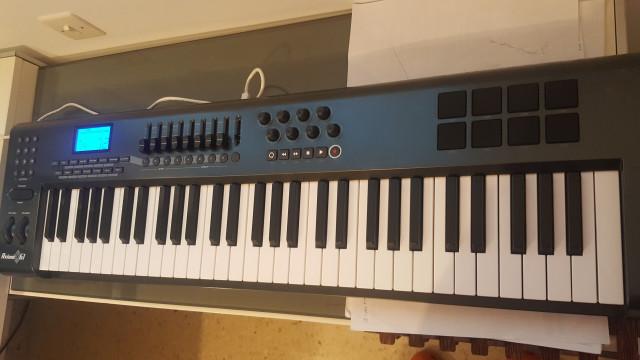 M-AUDIO AXIOM 61 TECLADO CONTROLADOR MIDI