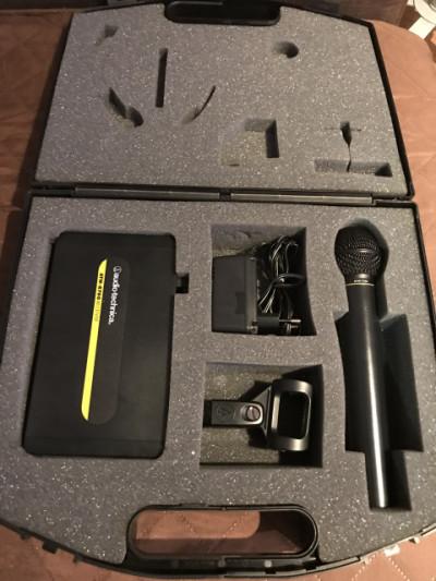 Micrófono Wireless Audio Technica