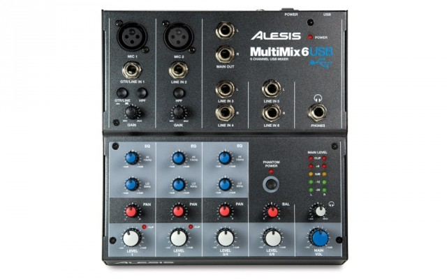 ALESIS MULTIMIX 6-USB (Envío Incluido)