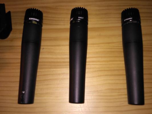 Shure SM57LC: Dos unidades