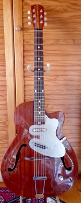 Guitarra EKO Mascot mod. 100 Thinline