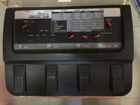Pedalera Ibanez Virtual Amp VA3 '90 Made in Japan
