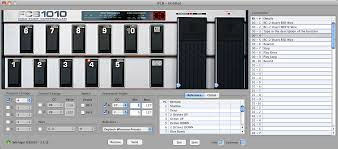 Pedalera midi Behringuer FCB1010 con chip UNO + software FCB/Uno