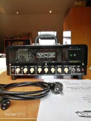 Amplificador Cabezal VOX Night Train 15H G2 15w