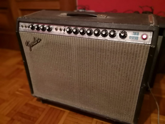 Fender Twin Reverb silverface 71/72