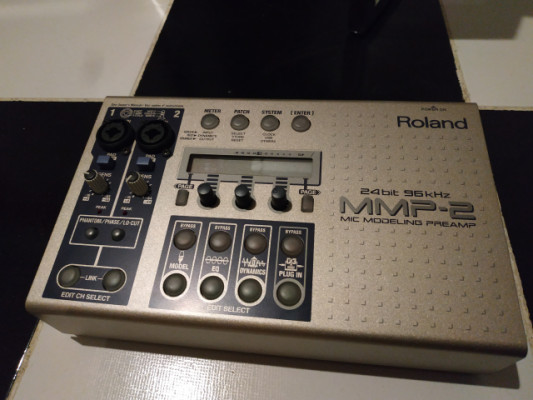Roland mmp-2 mic preamp