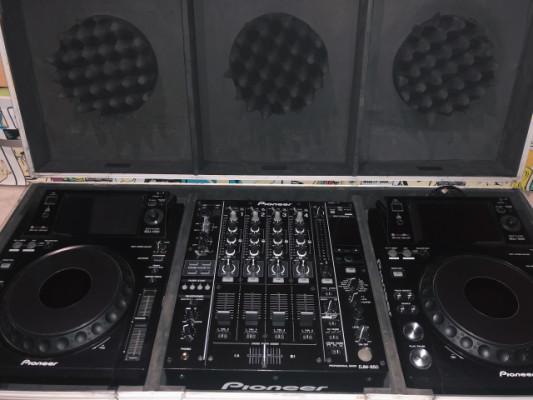 2X Pioneer XDJ 1000 + DJM 850 + Flight Case