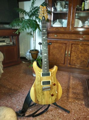 PRS SE 24-7 LIMITED EDITION (CON BARE KNUCKLES BLACK HAWK)