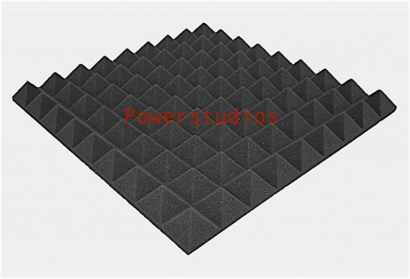 """Super oferta, promoción`45 paneles akustik pyramid, elegante y alta calidad ¡Nuevos """" en Stock ! envío incluido"""
