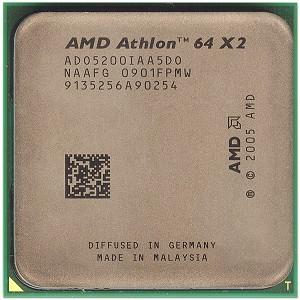 Procesador doble nucleo AMD athlon 64 bits  5200 x2 (socket AM2)+ Ventilador(envio incluido)
