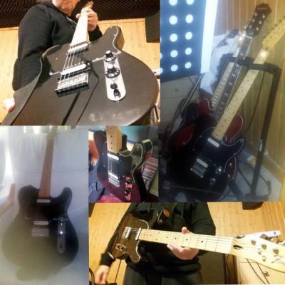 """Fender Telecaster Blacktop """"One&Only"""" Squier: cañón-cañón"""
