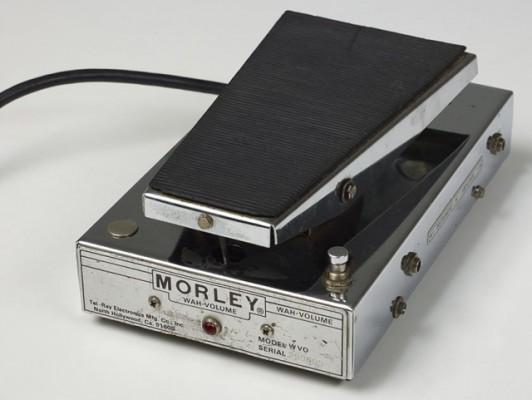Pedal wha-volume Morley años 70