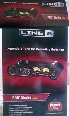 tarjeta de sonido toneport ux 2 line 6