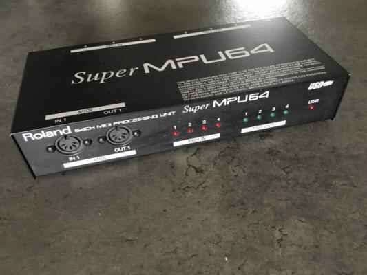 Roland Super MPU64 Interfaz Midi