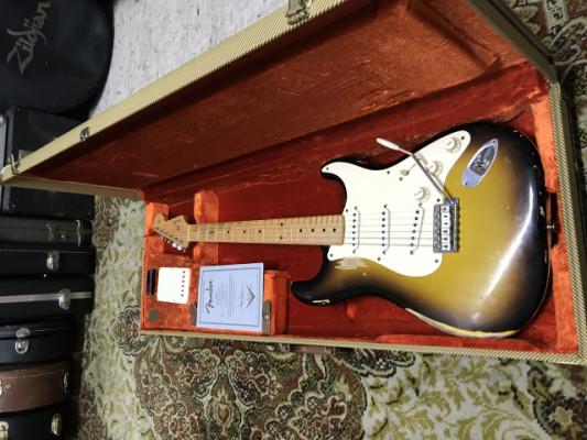 Fender stratocaster 1956 relic custom shop