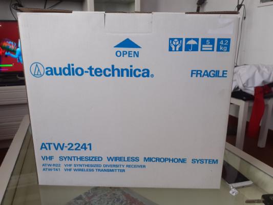 Sistema inalambrico audio technica