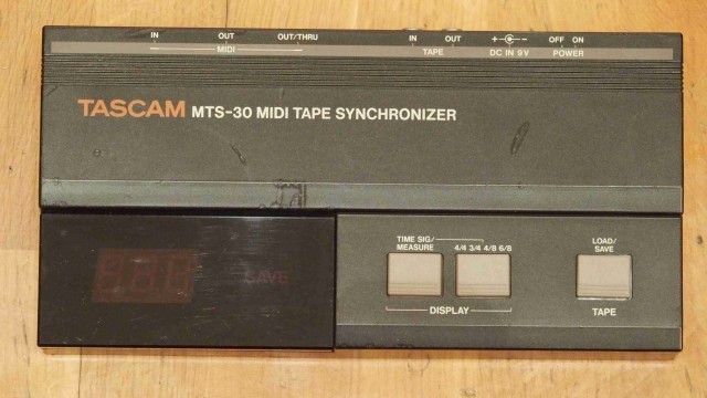 Sincronizador MIDI-Tape TASCAM MTS-30