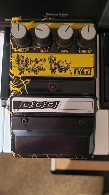 DOD Buzz Box FX33 1994(RARISIMO!!)