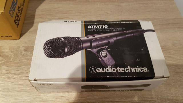 microfono audio technica atm 710 condensador