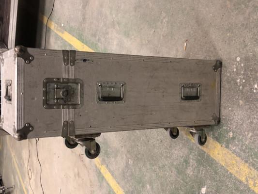 Flightcase de 9 pies de microfono