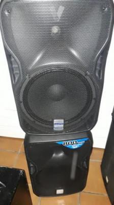 altavoces alto truesonic ts115w activos bluetooth. 800w max. wifi