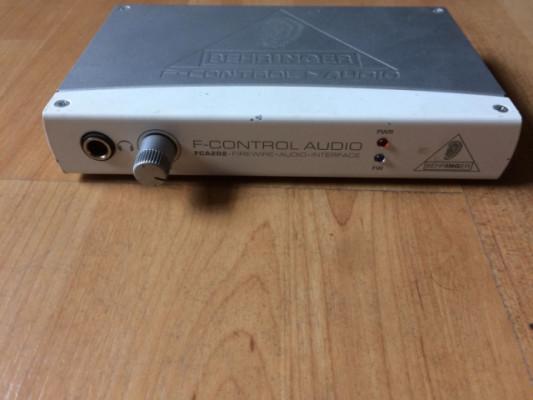 Tarjeta de audio beringuer f control audio