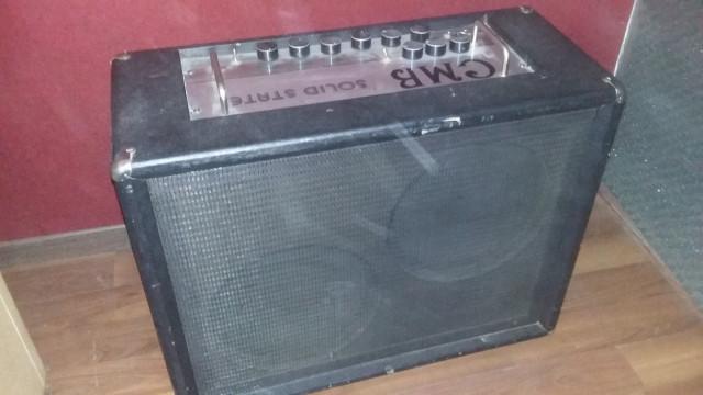 amplificador de guitarra CMB de los 70