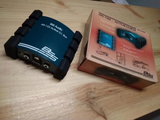 Caja de  inyección Bss Audio Ar-133