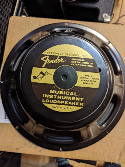 Altavoz Fender Eminence 8 ohm (Made in USA)