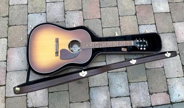 Gibson J15 Walnut Burst 2018