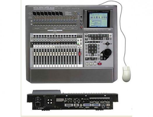 Vendo o cambio Roland VS 2480+ 2 tarjetas de efectos + plextor