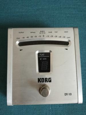 Afinador Cromático de Pedal Korg DT-10