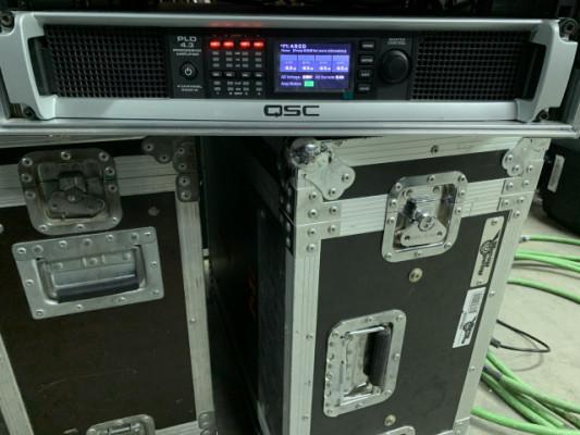 AMPLIFICADOR 4 CANALES QSC CON DSP GAMA ALTA PLD 4.3