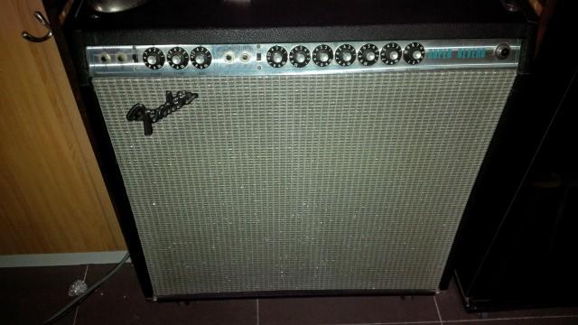 Fender Super Reverb Silver Face 1974
