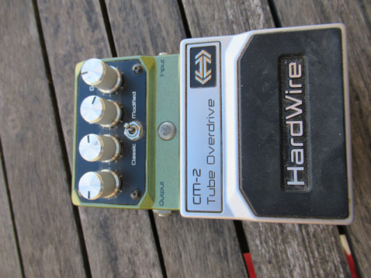 DIGITECH HARDWIRE CM-2 TUBE OVERDRIVE made in USA