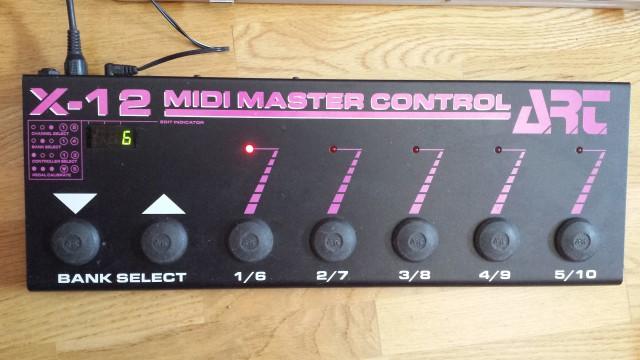 Controladora Midi Art X-12