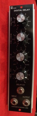 SYNTHETIC SOUND LABS M-1310 VC DIGITAL DELAY