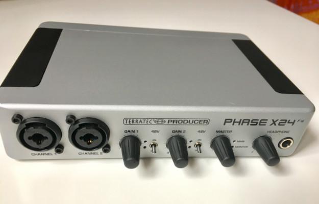 Tarjeta sonido TERRATEC PHASE X24 FW