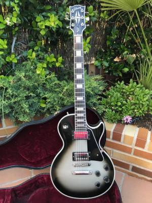 Gibson Les Paul Custom Silverburst 2010