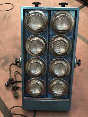 Cegadoras 8 lamparas posibilidad de 4 canales dimmer NUEVAS