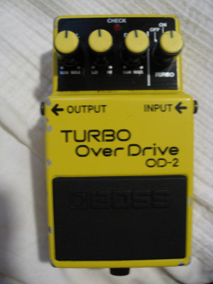 Boss OD-2 Turbo Overdrive Made in Japan 1985