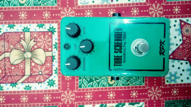 Tube screamer clon