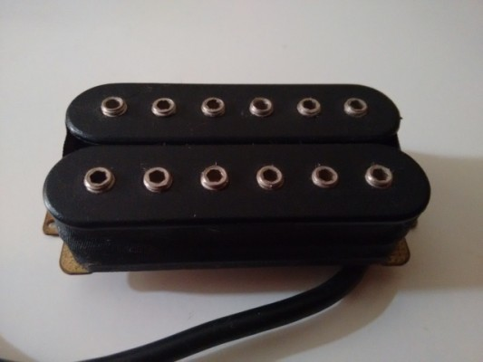 Set humbuckers neck+ bridge schaller 2 in 1 + push pull  pot envi