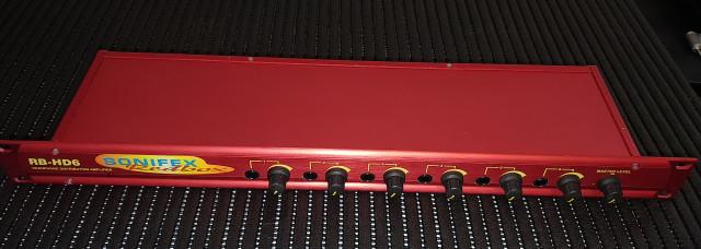 Sonifex Redbox RB-HD6 Amplificador Distribuidor para auriculares